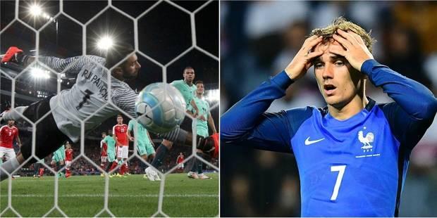 Mondial 2018: le Portugal défait par la Suisse, la France cale au Belarus - La Libre