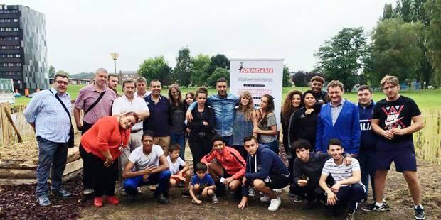 Marcinelle: le jardin de la solidarité - La Libre