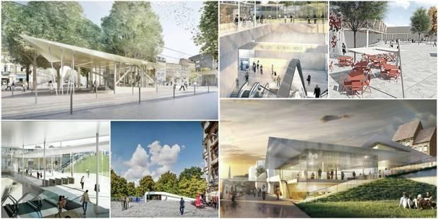 Bruxelles: découvrez les sept stations du futur métro Nord (PHOTOS) - La Libre