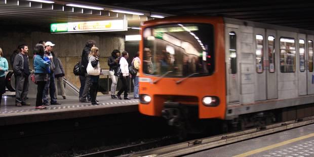 Bruxelles: retard sur les lignes 1 et 5 suite à un décès dans le métro - La Libre