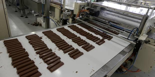 Mondelez International souhaite vendre à Barry Callebaut sa fabrique de chocolat à Halle - La Libre