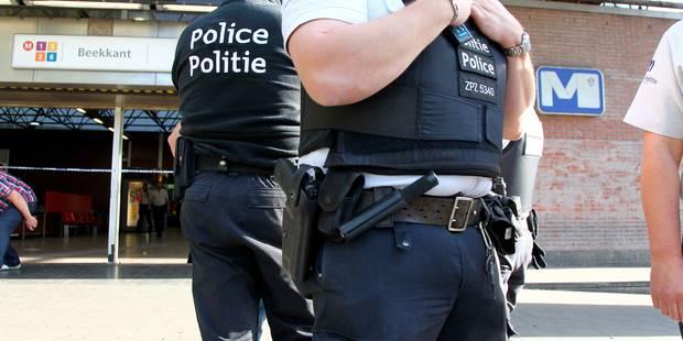 Affrontements entre la police locale et des jeunes à Molenbeek-Saint-Jean - La Libre