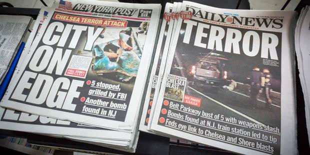 Attentats de New York et du New Jersey: le fait qui embarrasse les autorités - La Libre