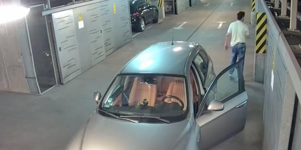 Complètement ivre, il démolit sa voiture dans un parking (VIDÉO) - La Libre