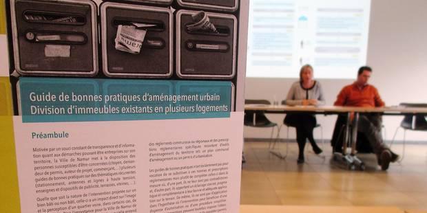 Namur: forte concentration des kots - La Libre