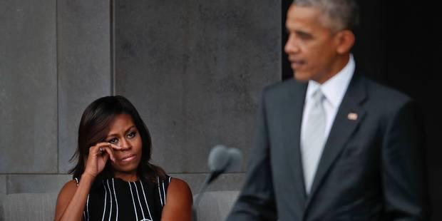En pleines tensions raciales, Obama loue l'héritage noir de l'Amérique - La Libre
