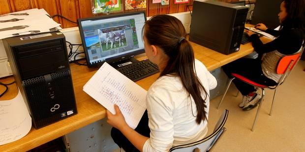 Ecole : non au tout numérique - La Libre