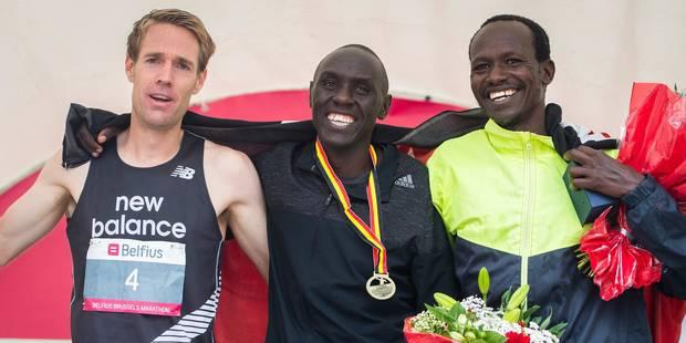 Marathon de Bruxelles: victoire du Kenyan Eric Kering devant Willem Van Schuerbeeck - La Libre