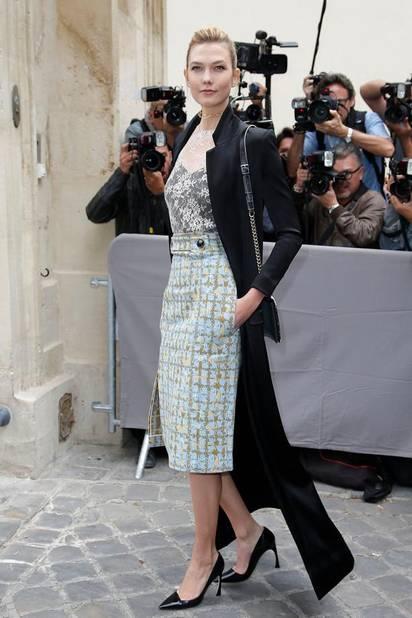 Karlie Kloss chez Dior