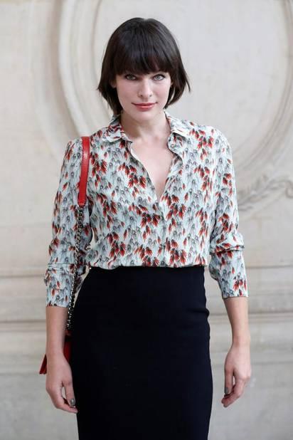 Milla Jovovich chez Dior