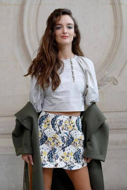 Charlotte Le bon chez Dior