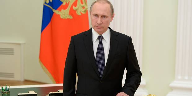 Poutine en visite en France le 19 octobre pour rencontrer Hollande - La Libre
