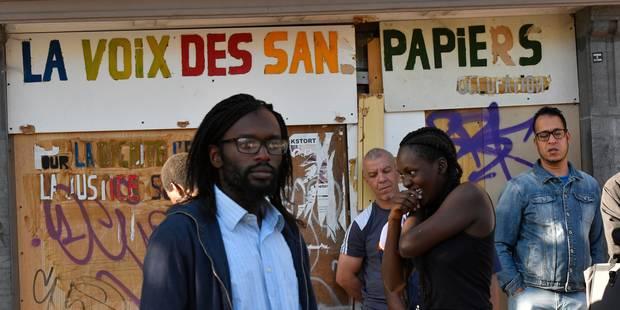Liberté pour les militants de la Voix des sans-papiers - La Libre