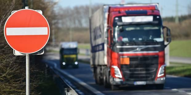 Trois quarts des camionneurs font une pause quand ils sont fatigués, selon l'IBSR - La Libre