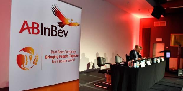 Le nouveau AB InBev démarre sa première séance sur une hausse - La Libre