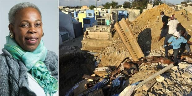"""Carol Jacob, agricultrice haïtienne: """"Les humanitaires viennent faire leur business à Haïti"""" - La Libre"""