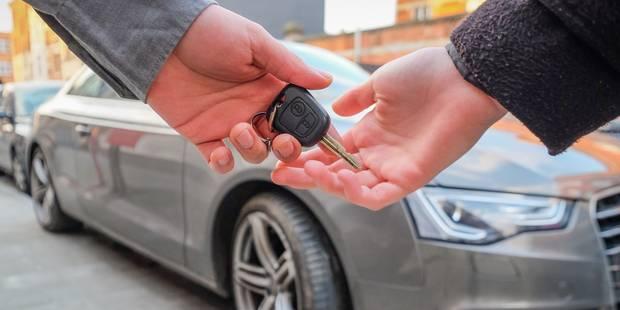 450 euros, un montant insuffisant pour renoncer à sa voiture de société - La Libre