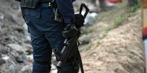 La police sera dotée de 4.400 nouvelles armes lourdes - La Libre
