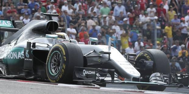GP des Etats-Unis: Hamilton le plus rapide ! - La Libre