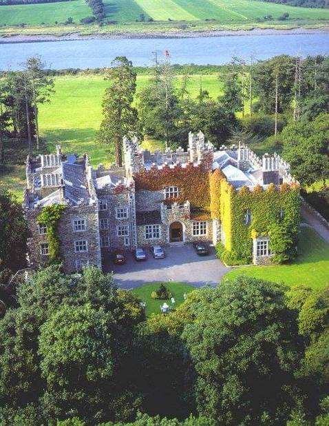 7. Waterford Castle, Ballinakill (comté de Waterford, Angleterre)