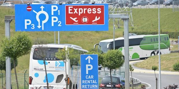 Les parkings des aéroports belges relativement onéreux - La Libre