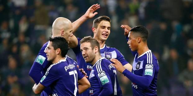 Anderlecht bat Malines, Charleroi s'impose contre Genk, Zulte toujours en tête - La Libre