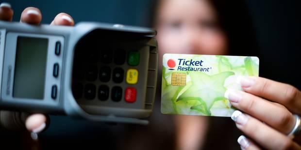 Les chèques-repas à nouveau dans le viseur - La Libre