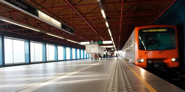 Fausse alerte à la station Osseghem: le trafic du métro bruxellois a pu reprendre - La Libre