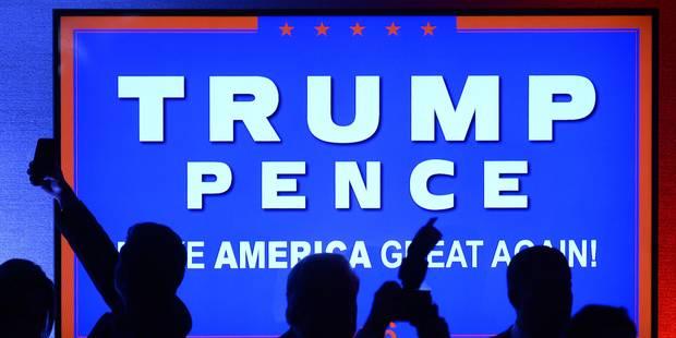 Les premiers noms du futur cabinet Trump émergent - La Libre