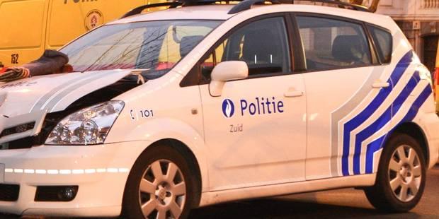 4 policiers légèrement blessés lors d'une course-poursuite à Bruxelles - La Libre