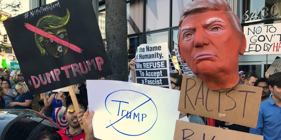 """Edito: après le """"choc"""" Donald Trump - La Libre"""