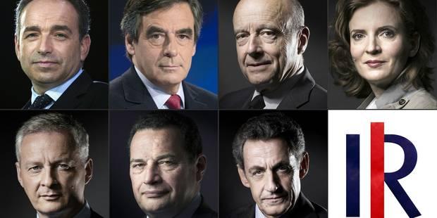 Primaire à droite: Juppé en tête, Fillon monte, Sarkozy baisse - La Libre