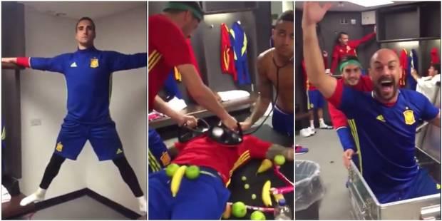 La Roja se met aussi au Mannequin Challenge (VIDEO) - La Libre