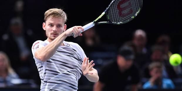 Masters de Londres: Monfils forfait, Goffin affrontera Djokovic jeudi - La Libre
