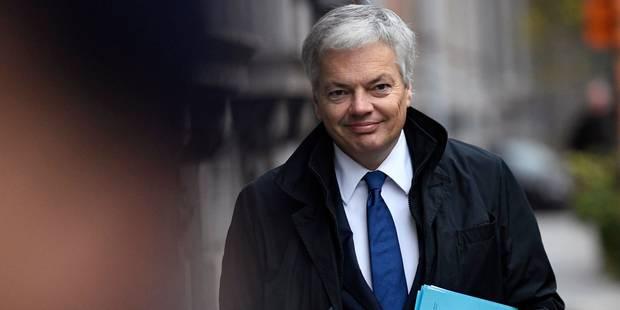 """Reynders """"prend acte"""" de la désignation de M. Badibanga comme Premier ministre - La Libre"""
