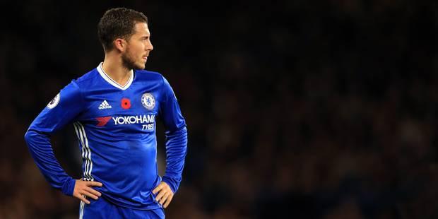 """Hazard: """"Si je dois quitter Chelsea, ce sera après avoir remporté un nouveau titre de champion"""" - La Libre"""
