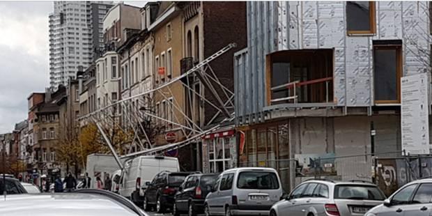 Rafales de vent: deux blessés à Anvers, précautions dans toutes les régions et à Brussels Airport (PHOTOS ET VIDEOS) - L...