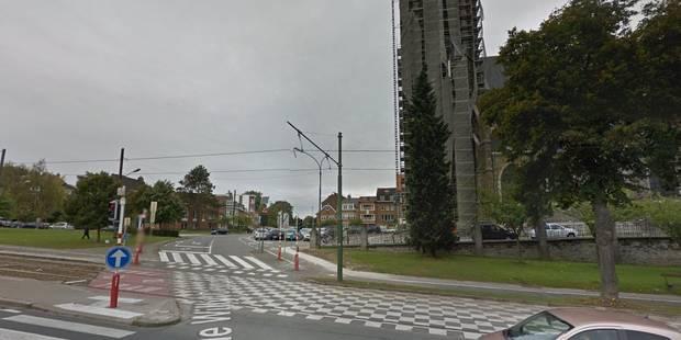 Une conductrice dans un état critique après collision avec un tram à Watermael-Boitsfort - La Libre
