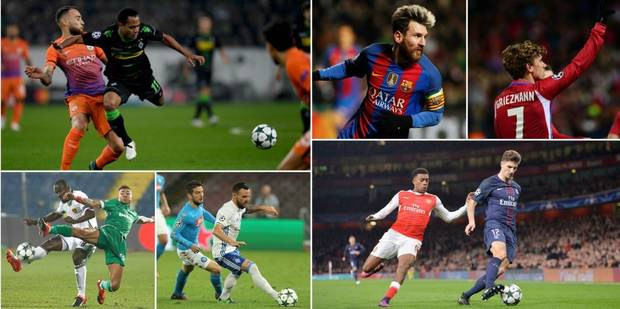 C1: le Barça et l'Atlético sans souci, match nul à 'Gladbach-City et Arsenal-PSG - La Libre
