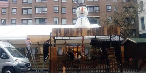 Le marché de Noël sous surveillance à Namur - La Libre