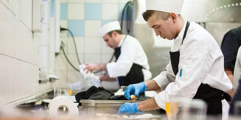 Un coup de pouce aux formations en prison la libre - Commis de cuisine bruxelles ...