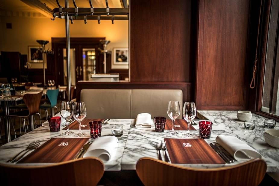 Le Bozar brasserie, un cadre parfait pour la cuisine française de Karen Torosyan.