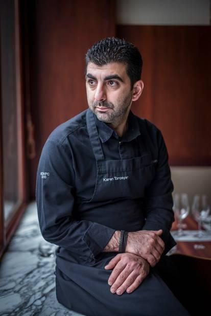 Karen Torosyan garde les yeux rivés sur son objectif : retravailler les grands classiques de la gastronomie française.