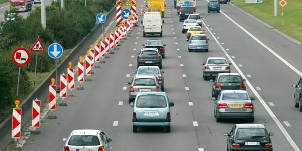 D'importants embouteillages sur le ring intérieur de Bruxelles après un accident - La Libre