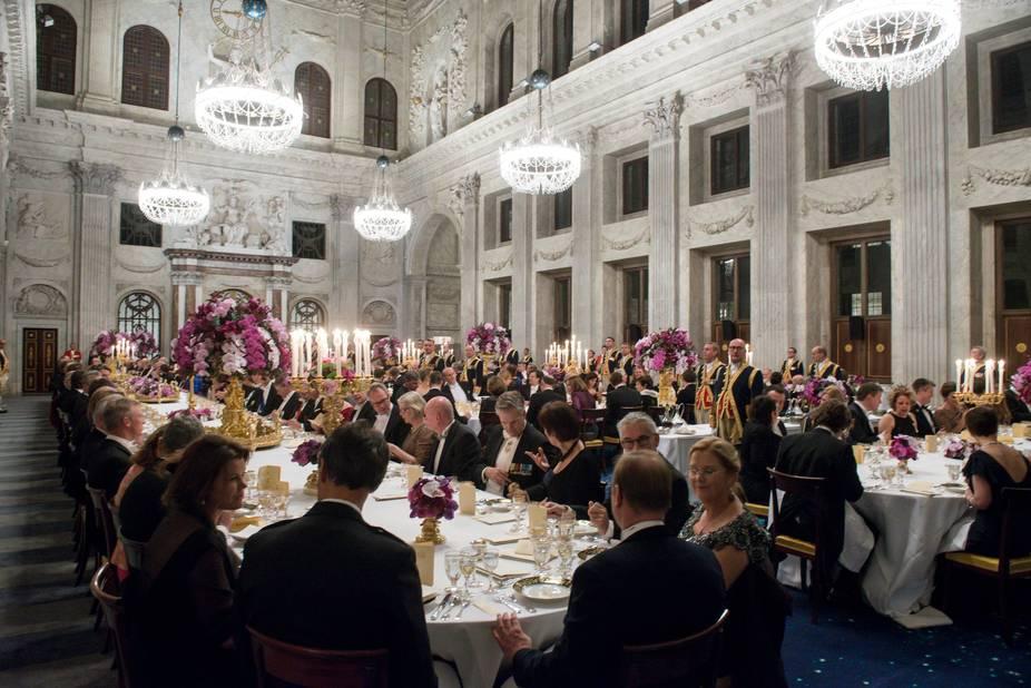 Au palais royal d'Amsterdam, c'était la fête ce lundi 28 novembre en soirée.