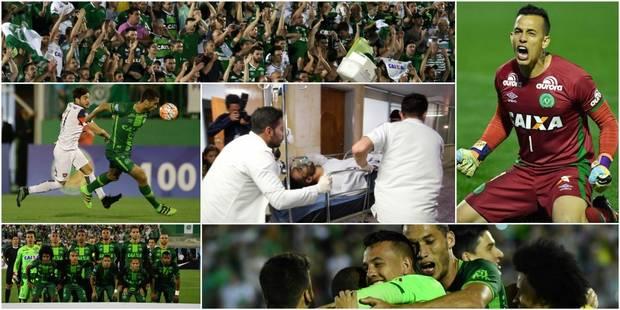 Crash d'avion en Colombie: Chapecoense, de la D4 brésilienne à la finale de l'Europa League sud-américaine - La Libre