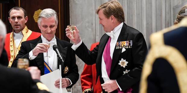 """Aux Pays-Bas, le roi Philippe loue l'esprit d'ouverture des """"Plats pays"""" (VIDEO) - La Libre"""