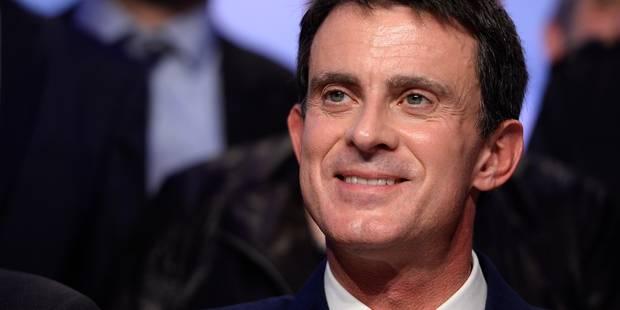 Présidentielle française: Manuel Valls annoncera en fin de journée sa candidature - La Libre