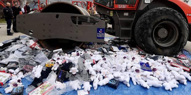 La contrefaçon et la piraterie font des ravages en Belgique - La Libre