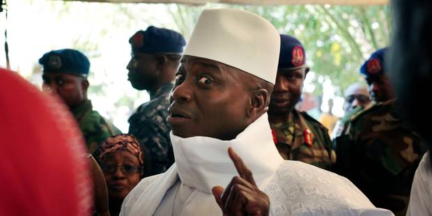 Gambie: Jammeh rejette les résultats une semaine après avoir reconnu sa défaite - La Libre
